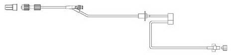 MedSystem III<sup>®</sup> Infusion Tubing, Half Set