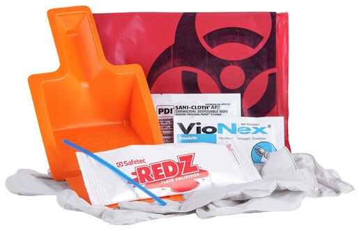 Curaplex<sup>&reg;</sup> Fluid Spill Kit