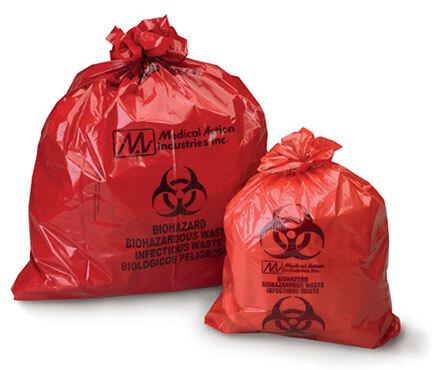 Curaplex<sup>&reg;</sup> Biohazard Waste Bags