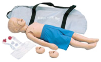 Simulaids CPR Kyle 3-year-old Pediatric Manikin