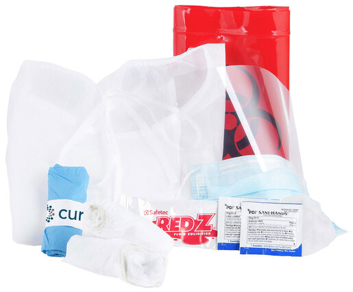 Curaplex<sup>®</sup> All-In-One Personal Protection and Cleanup Kit