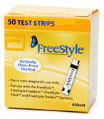 Abbott FreeStyle<sup>®</sup> Blood Glucose Test Strips
