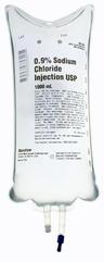 Baxter .9% Sodium Chloride ViaFlex IV Bag, 1000mL