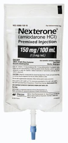 Baxter Nexterone (Amiodarone HCI) Premixed Injection