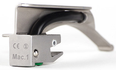 Curaplex<sup>®</sup> Single-use All-metal Laryngoscope Blades, Macintosh, Stainless Steel