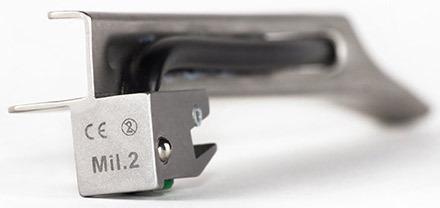 Curaplex<sup>®</sup> Single-use All-metal Laryngoscope Blades, Miller, Stainless Steel