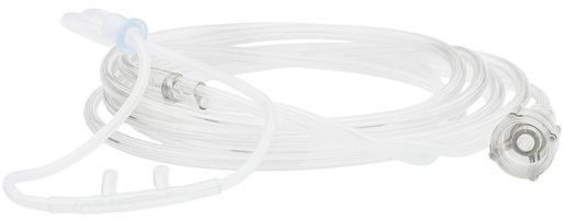 Curaplex<sup>®</sup> Comfort Nasal Cannulas, Curved, Adult, Star Lumen, 14'