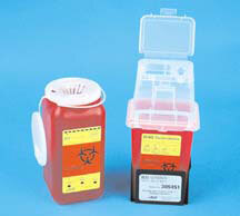 BD Multi-use 1-piece Guardian Sharps Collector, 1.4qt