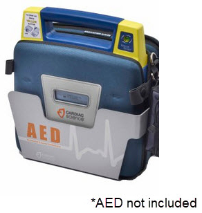 Cardiac Science<sup>®</sup> AED Metal Wall Sleeve, Compatible with Powerheart AEDs
