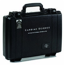 Cardiac Science<sup>®</sup> Hard Carry Case for Powerheart G3 AED, Water-resistant