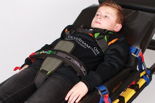 Quantum ACR4 Ambulance Child Restraint System