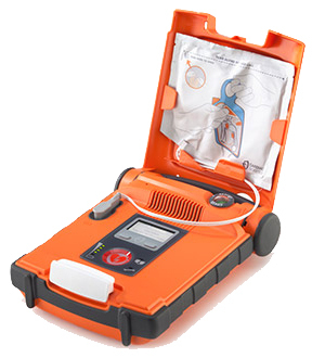 Cardiac Science Powerheart<sup>&reg;</sup> AED G5 Semi-automatic, Dual Language Package, Slim
