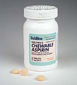 Children's Chewable Aspirin, 81mg, 36 Tablets/Bottle