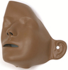 Laerdal Resusci Anne<sup>®</sup> Updates and Replacements, Manikin Faces, Dark Skin, 6/package