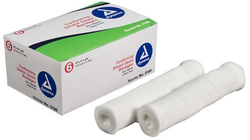 Dynarex<sup>®</sup> Confirming Stretch Gauze Bandages