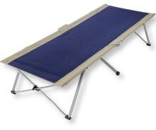 "EasyCot Foldable, Portable Full-Size Cot, 31"" x 78"" x 18"""