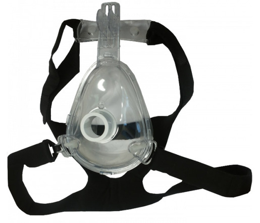 Pulmodyne<sup>®</sup> O2 MAX<sup>™</sup> BiTrac ED<sup>™</sup> Full Face Mask & Head Strap