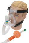 Pulmodyne<sup>&reg;</sup> O2-MAX<sup>™</sup> BiTrac ED<sup>™</sup> with CPAP Valve and Fixed Flow Generator, 3-set Valve, with Chemtron, Adult, Large