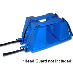 Head and Chin Straps for the Head Guard Head Immobilizer, Pair