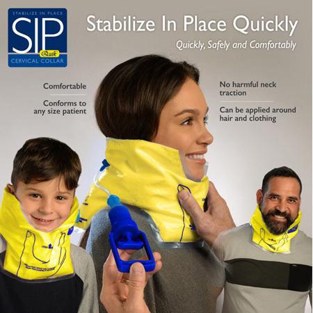 Pulmodyne<sup>®</sup> SIPQuik<sup>™</sup> Vacuum Cervical Splint, Pediatric/Adult