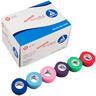 Dynarex<sup>&reg;</sup> Sensi-Wrap Self-adherent Bandage Rolls, Rainbow, 1&rdquo;