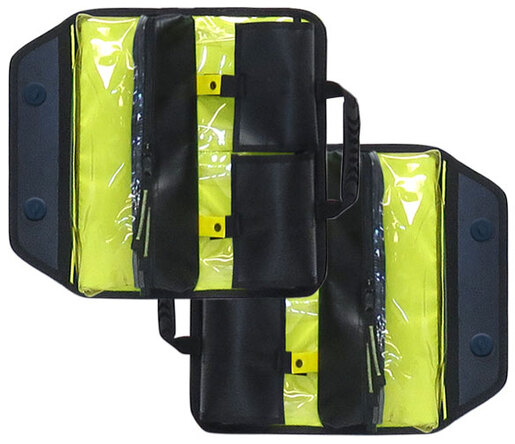Iron Duck Metro TechPacks for O2 and Basic Life Support, Includes Modules