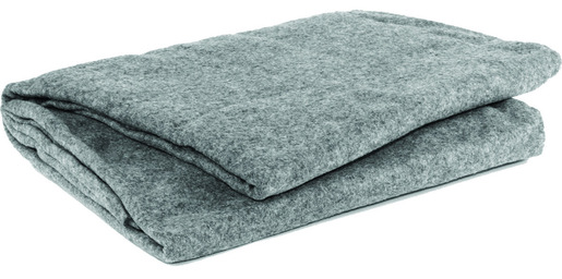 "Curaplex<sup>®</sup> Gray Polyester Blanket, 66"" x 90"""