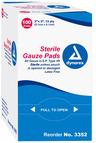 Dynarex<sup>®</sup> Sterile Gauze Pads, 2&rdquo; x 2&rdquo;
