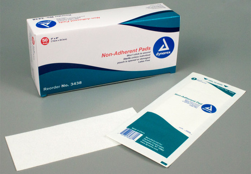 Dynarex<sup>®</sup> Non-adherent Pads, Sterile