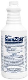Safetec SaniZide Plus<sup>®</sup> Surface Disinfectant, 32oz Spray Bottle