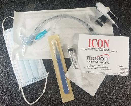 Kwik Cric Emergency Field Cricothyrotomy Kits