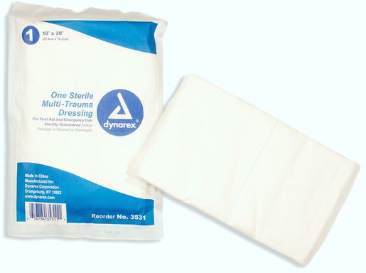 Dynarex<sup>®</sup> Multi-Trauma Dressing, Sterile