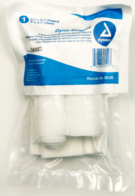 Dynarex<sup>®</sup> Dyna-Stopper Trauma Dressing, Sterile