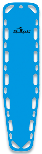 Iron Duck Ultra Vue 16 Backboard with Pins, Blue