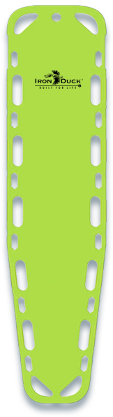 Iron Duck Ultra Vue 16 Backboard with Pins, Lime Green