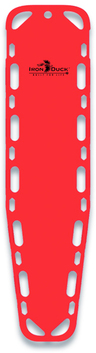 Iron Duck Ultra Vue 16 Backboard with Pins, Red