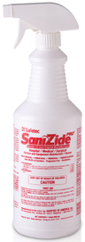 Safetec SaniZide Pro<sup>&reg;</sup> Spray, 2-minute Surface Disinfectant, 32oz Spray Bottle