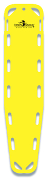 Iron Duck Base Board Spineboard with 10 Pins, Yellow