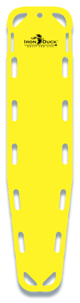 Iron Duck Base Board Backboard, Yellow
