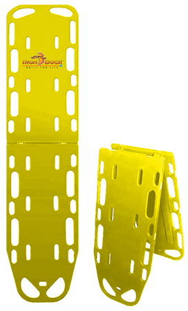 Iron Duck Ultra Space Save Backboard with Pins, Yellow
