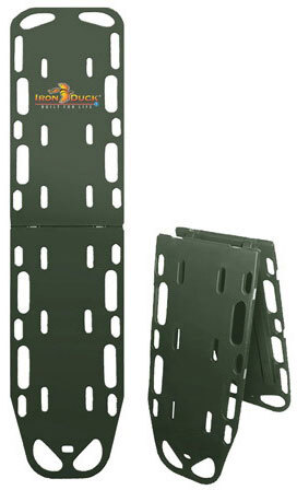 Iron Duck Ultra Space Save Backboard with Pins, Olive Drab