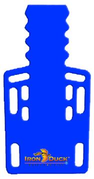 Iron Duck Ultra Short Backboard with Pins, Blue