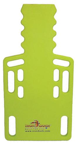 Iron Duck Ultra Short Backboard, Lime Green