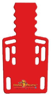 Iron Duck Ultra Short Backboard, Red