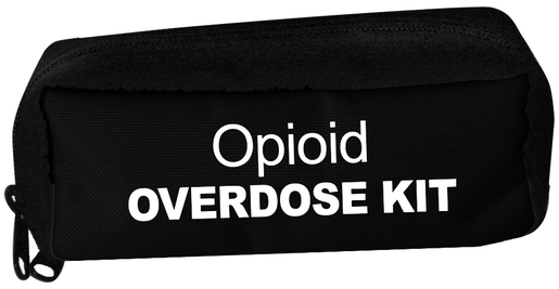 Iron Duck Opioid Overdose Carry Case, Black