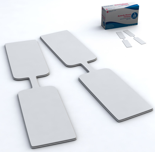 Dynarex<sup>&reg;</sup> Butterfly Wound Closures, Sterile, Medium