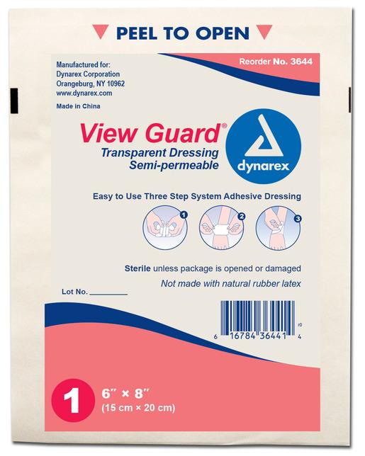 Dynarex<sup>®</sup> View Guard Transparent Dressing