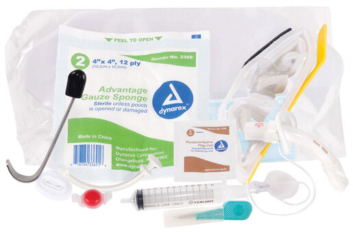 Curaplex<sup>®</sup> Emergency Field Cricothyrotomy Kit