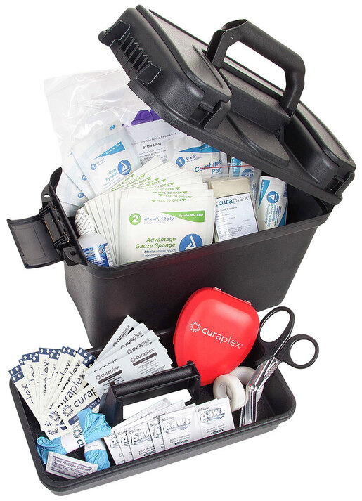 Curaplex<sup>®</sup> Trunk First Aid Kit, Large