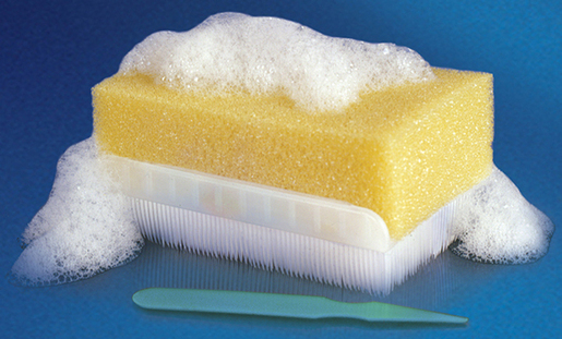 BD E-Z Scrub<sup>™</sup> Surgical Scrub Brush, 3% Chloroxylenol (PCMX)